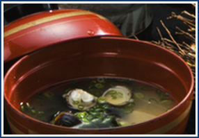 6.ご朝食 島根の味 しじみ汁から始まる朝